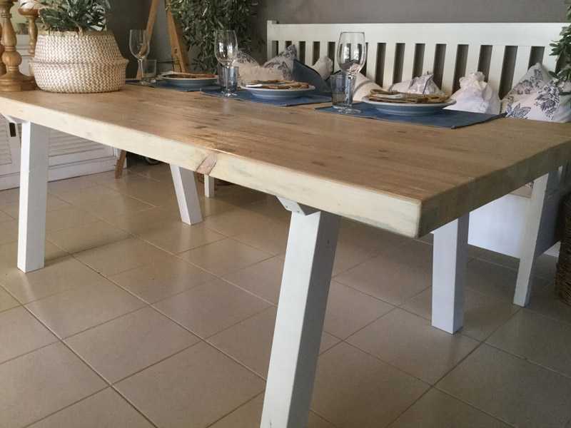 Rustic and chunky all wood dining table sand interior chunky all wood dining table bs4 bs3 bs2 bs watchthetrailerfo