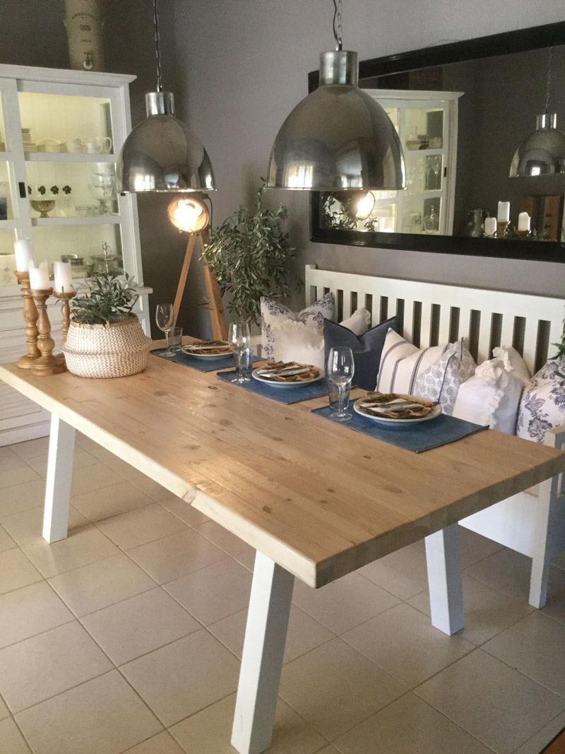 Rustic and chunky all wood dining table sand interior chunky all wood dining table bs4 watchthetrailerfo